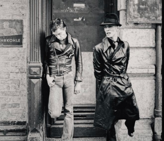 Iggy Pop and Bowie in Berlin