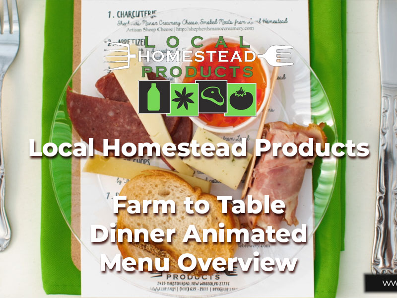 Local-Homestead-Products-Farm-To-Table-Dinner-Menu-Overview