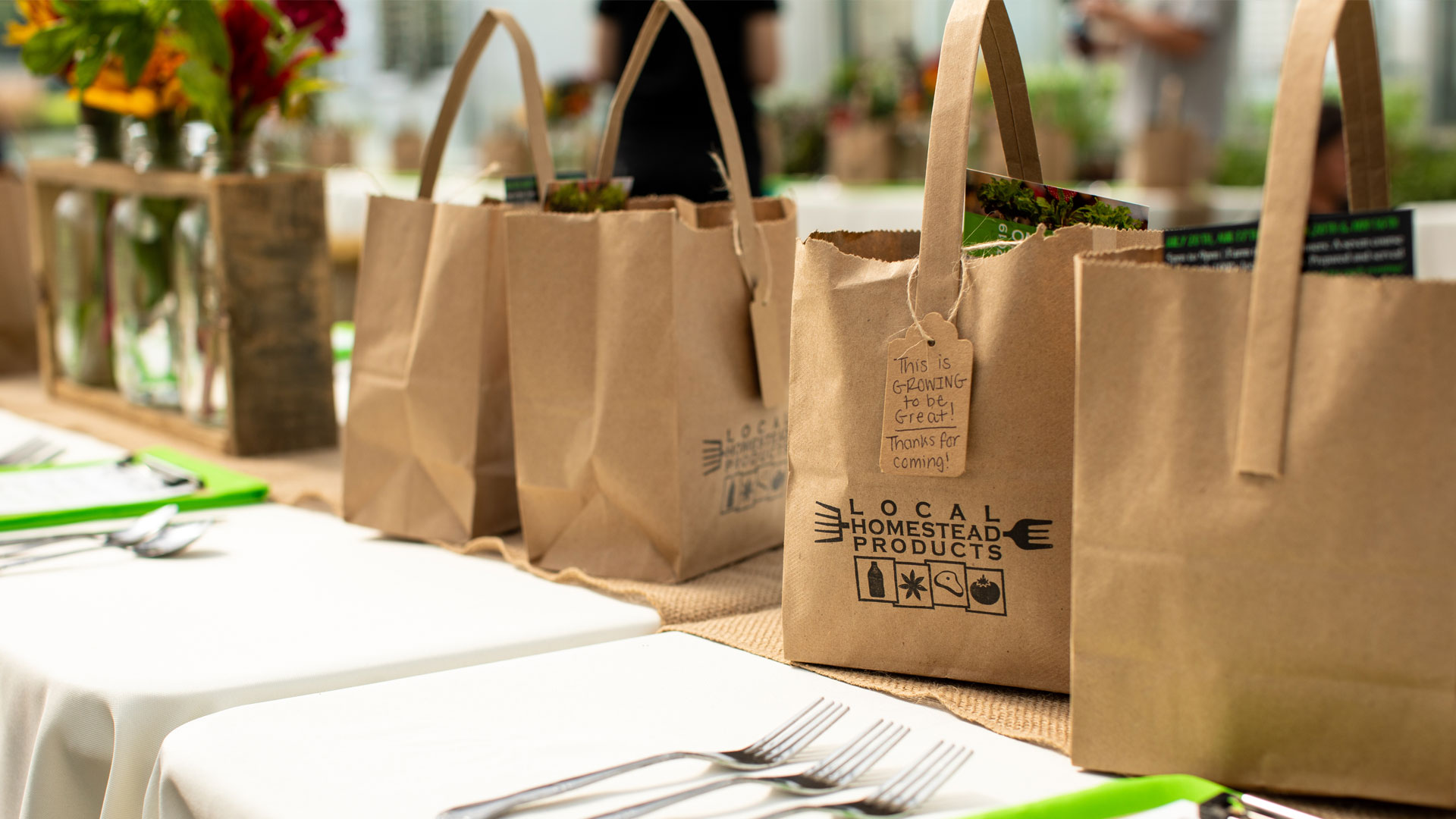 thank-you-bag-table-setting-LHP-farm-to-table-dinner ©Kelly Heck Photography
