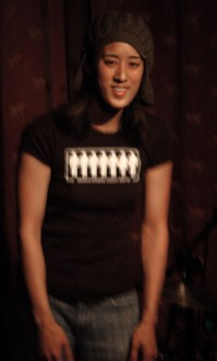 Vienna Teng performing at Portland's Mississippi Studios in 2007.
