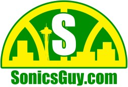 Sonics Guy logo, original colors.