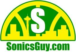 Sonics Guy logo, original colors.