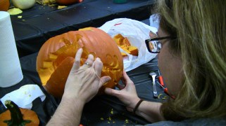Pumpkin Carving With CLAW