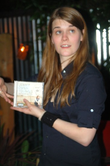 Jenny Owen Youngs at Portland's Mississippi Studios in 2007.