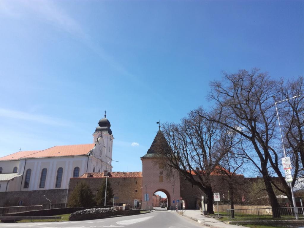 kosicka brana mestske hradby levoca slovensko