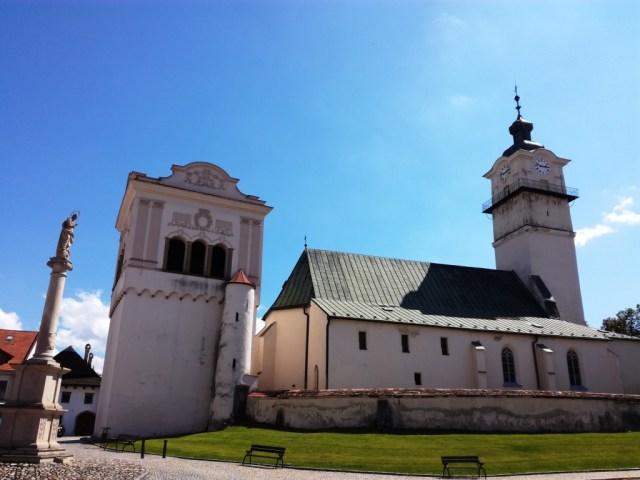 kostol sv. juraja spisska sobota poprad