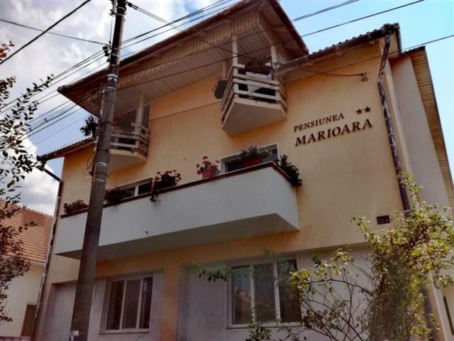 baia mare velka bana maramures rumunsko pensiunea marioara