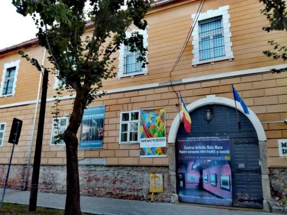 baia mare velka bana maramures rumunsko krajske muzeum umenia