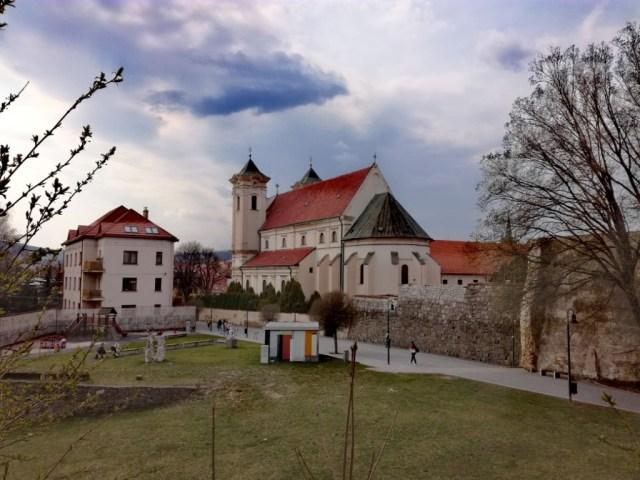 presov saris severovychod slovenska zahrada umenia frantiskansky kostol hradna priekopa ginko dvojlalocne