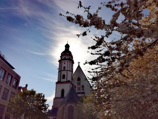 kostol sv. tomasa lipsko sasko nemecko