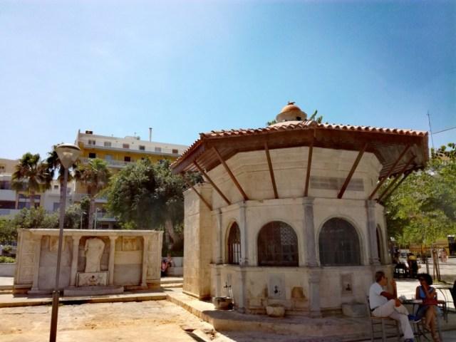 iraklio iraklion heraklion kreta grecko fontana bembo sebil