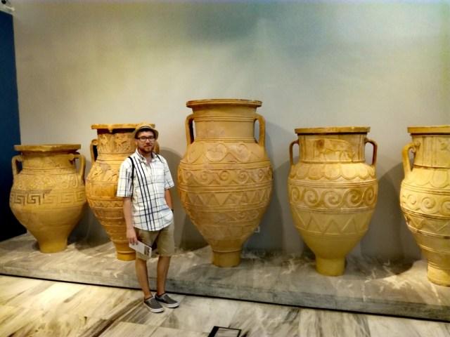 iraklio iraklion heraklion kreta grecko archeologicke muzeum iraklio