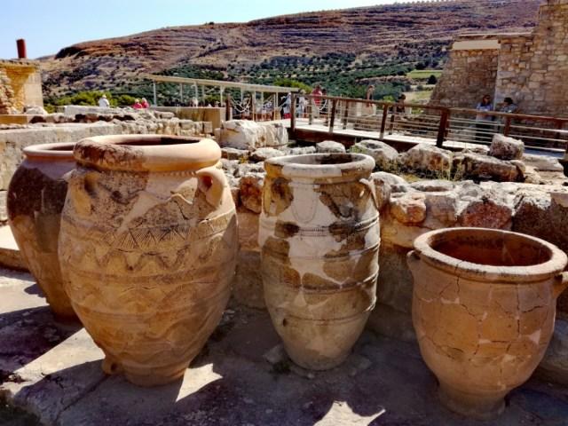 grecko kreta knossos pithoi
