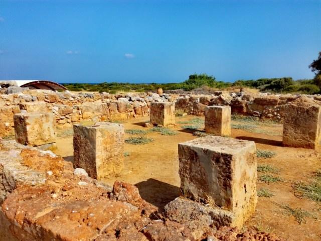 archeologicka lokalita palac malia minojci kreta grecko