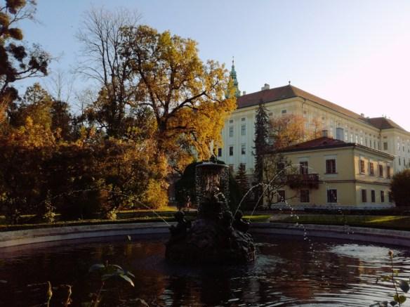 kromeriz kromerizsko vychodna morava cesko zlinsky kraj podzamecka zahrada arcibiskupsky zamek