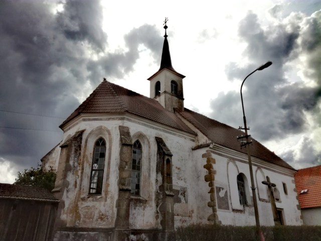 slavonice ceska kanada jizni cechy cesko spitalsky kostol sv. jana krstitela