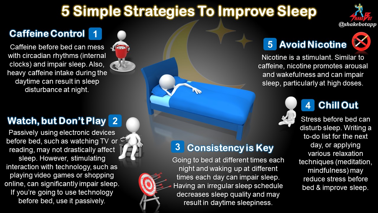 5 Easy Ways to Improve Sleep