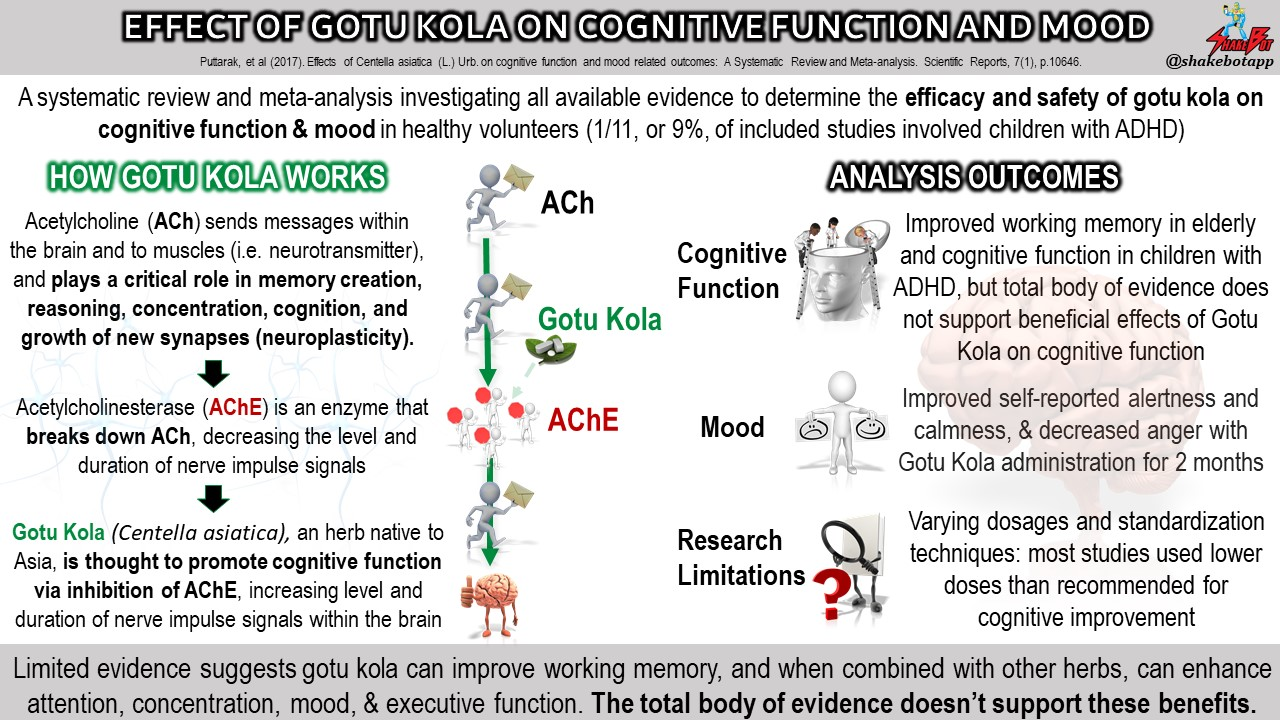 Supplement Review: Gotu Kola