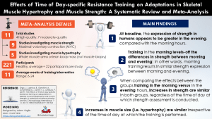Effects of Time of Day-specific Resistance Training on Adaptations in Skeletal Muscle Hypertrophy and Muscle Strength: A Systematic Review and Meta-Analysis