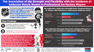 The Association of Hip Strength and Flexibility with the Incidence of Adductor Muscle Strains in Professional Ice Hockey Players