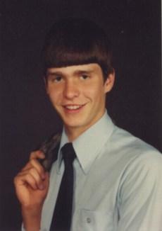 R. Scott Benson, son, senior photo
