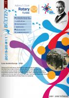 Adana 5 Ocak Rotary Kulübü 2019-20 Bülten – 11