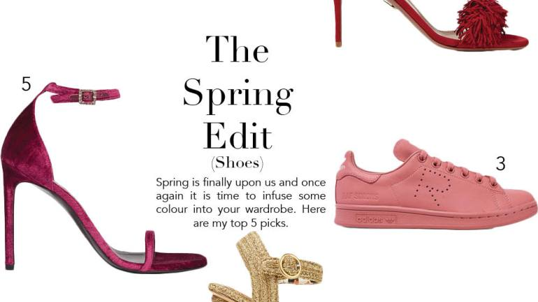 The Shoes you need for Spring 2016