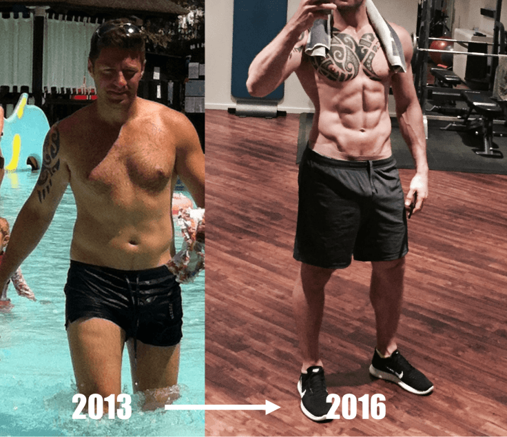Steve's Body Journey - Body Transformation