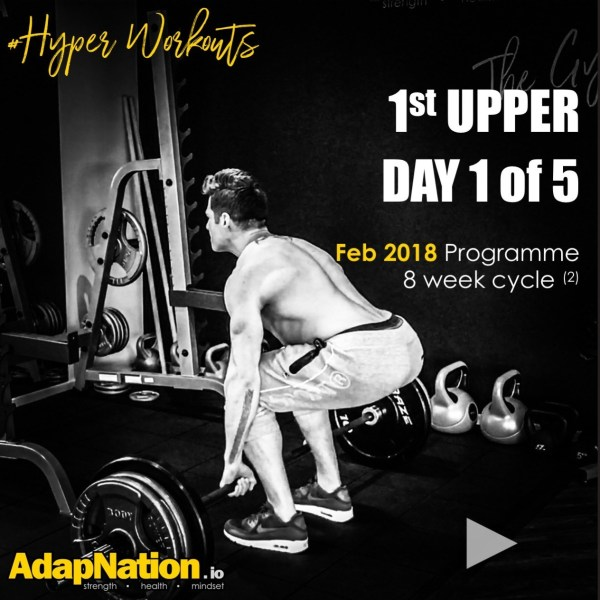 #HyperWorkouts - Day 1 of 5 - Feb 2018