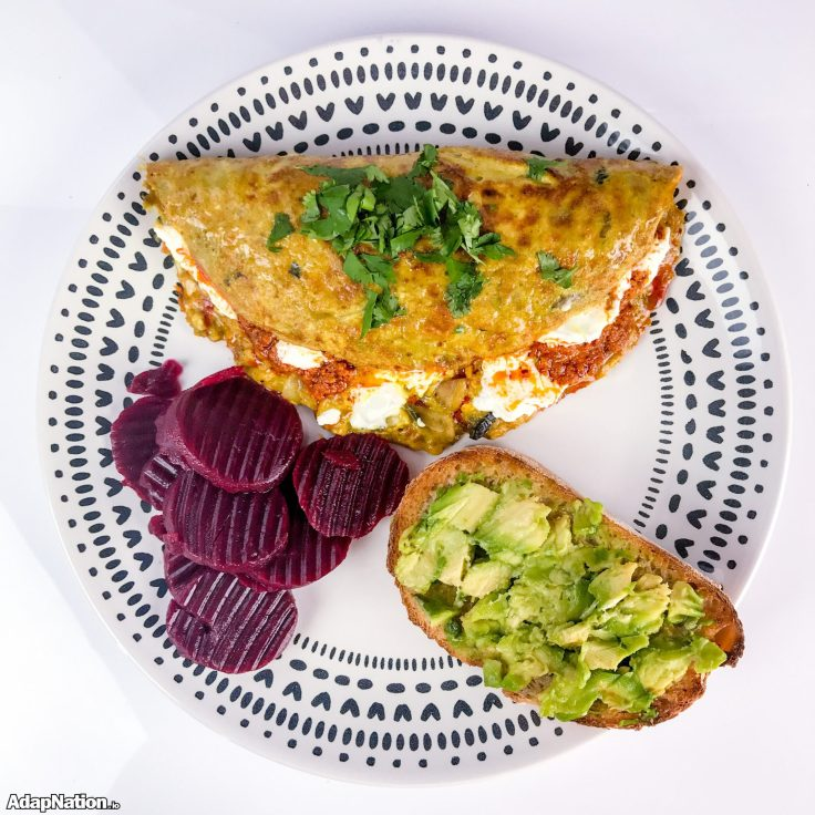 Omelette & Sourdough - Superfood