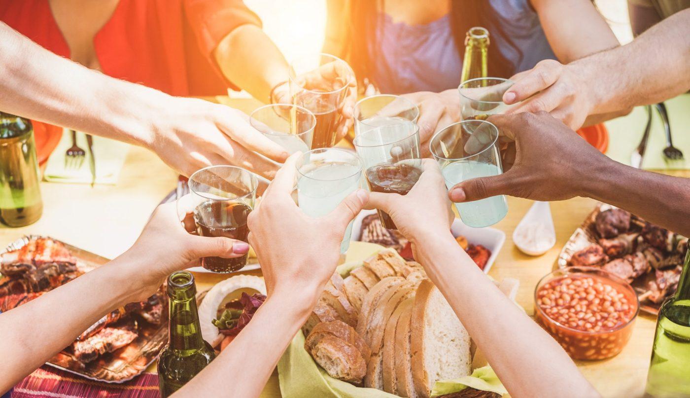 Social and food fun in Australia