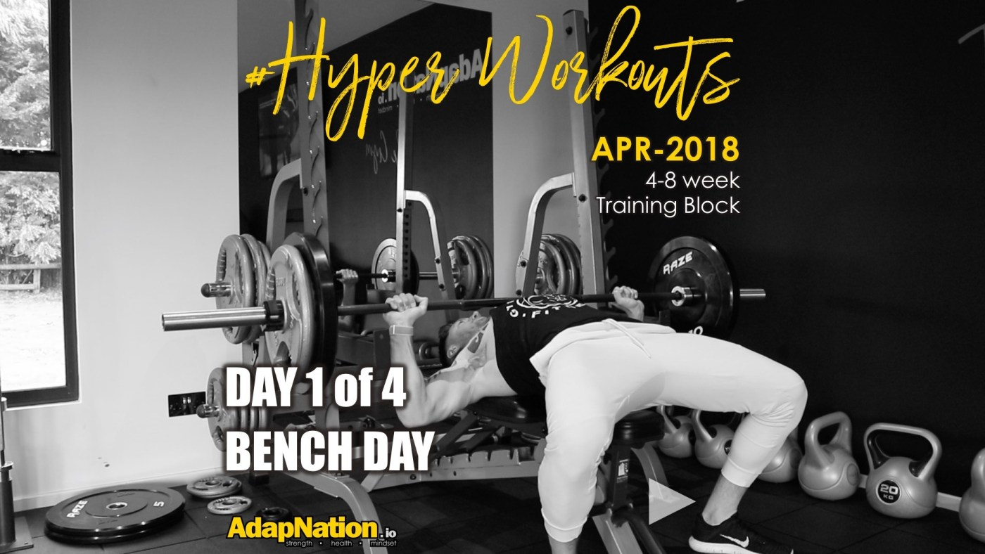 APR-18 #HyperWorkouts - Day 1 of 4
