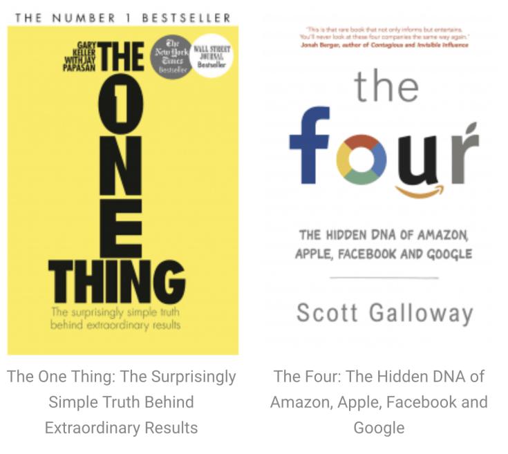 BOOKS: Modern Business / Entrepreneurship