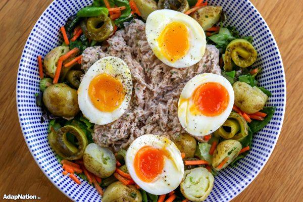 Tuna Mayo Nicoise with New Potatoes