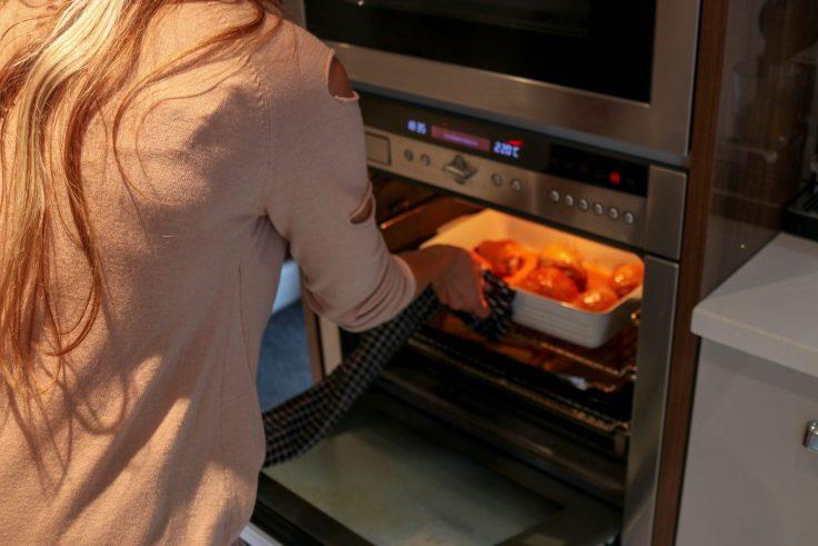 Michelle in the kitchen