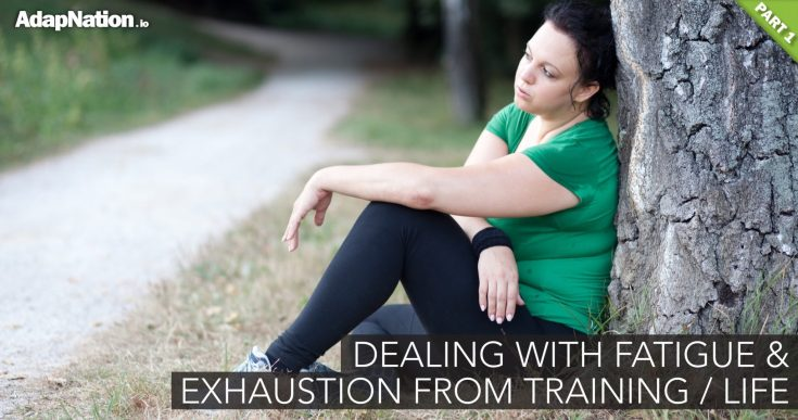 Chronic Exercise & Life Fatigue –> GAS'd Out, Not Making Progress Or Stressed? [PART 1 / 3]