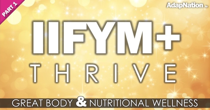 IIFYM+ Thrive - Feature - Instagram - P1 (FB Narrow)