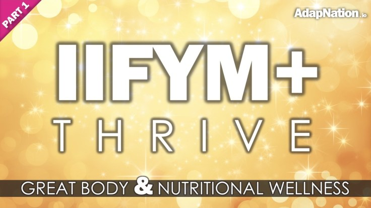 IIFYM+ Thrive Logo - Feature Image (GOLD) PART 1