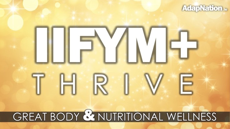 AdapNation IIFYM+ Thrive Feature Gold