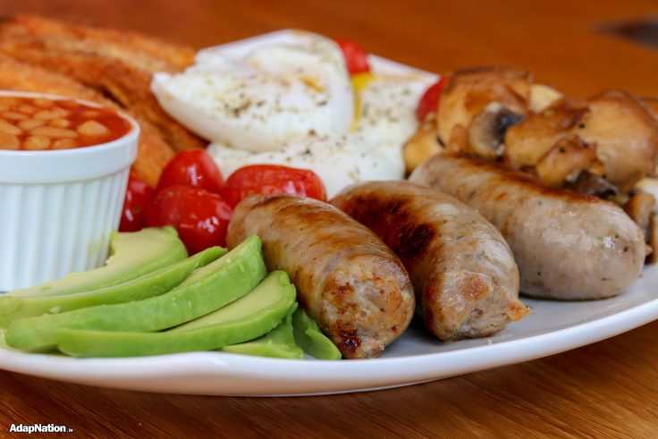 The BEST British Fry Up Ever! - IIFYM+ Thrive inspired p2