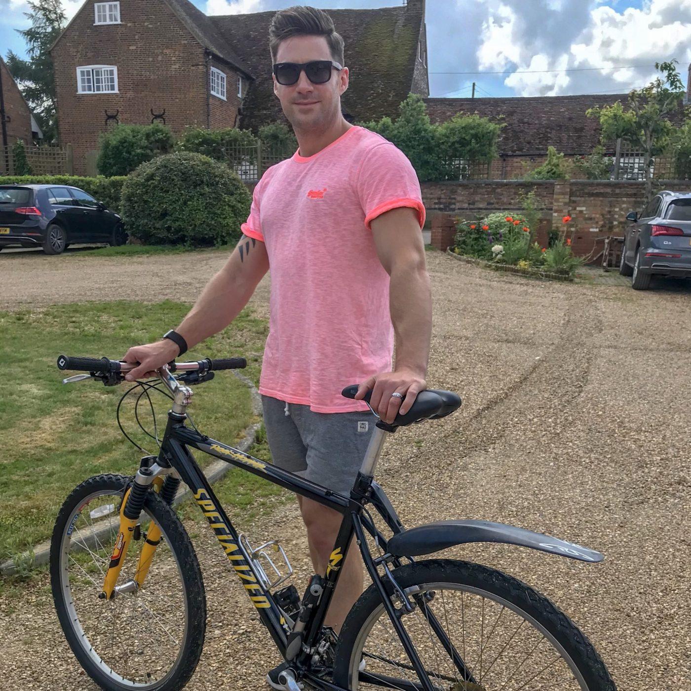 Getting Out the 19yo Bike