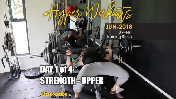 JUN-18 #Hyperworkouts - Day 1 FEATURE