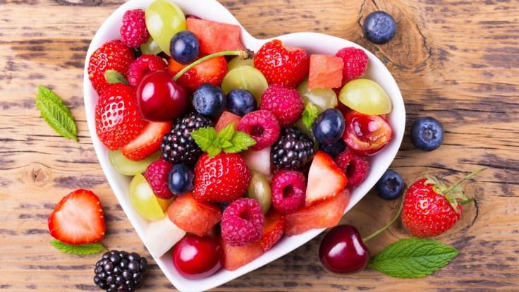 Fresh berries fruit
