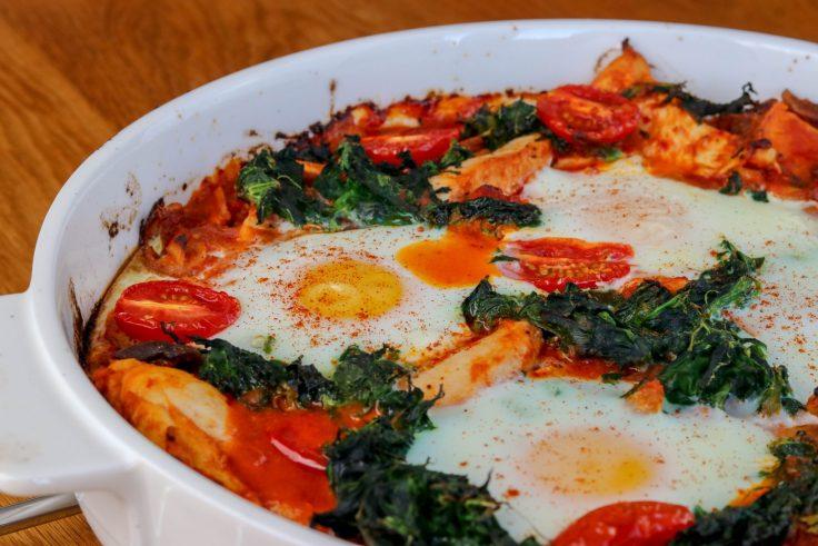 Chicken & Sweet Potato Huevos Rancheros p2