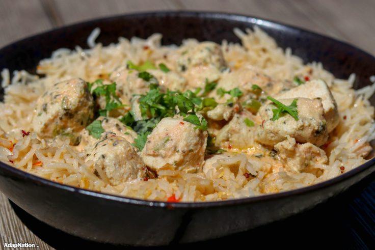 Super Easy Chicken Thai Curry