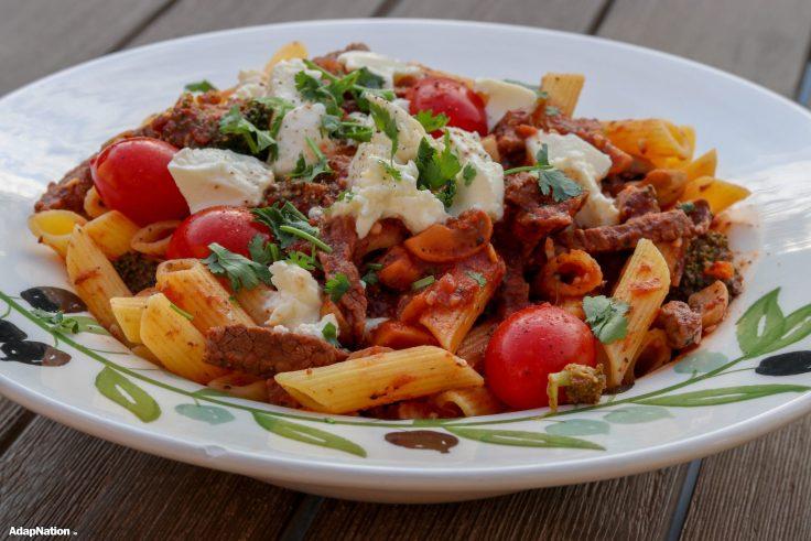 AdapNation's Penne Tutti Gusti - Gluten Free! p2
