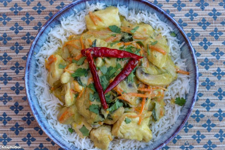 Quick & Easy Chicken Thai Green Curry p3