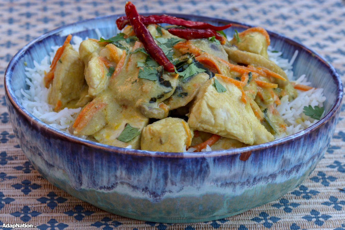 Quick & Easy Chicken Thai Green Curry