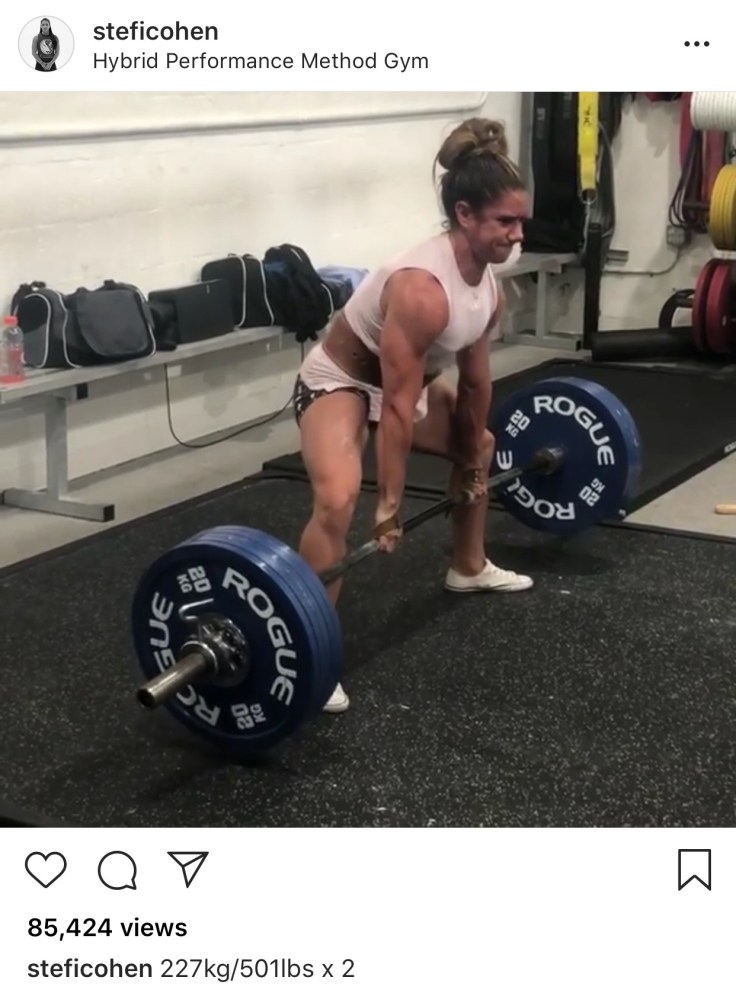 Stefi Cohen is a machine! Girls got some serious 'Period Strength'!
