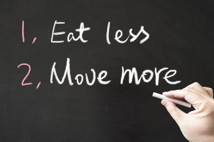 The old words of wisdom - Just Eat Less & Move More